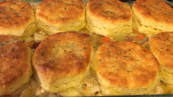 Quick Homestyle Chicken and Biscuits