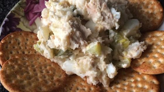 Russian Salmon and Potato Salad