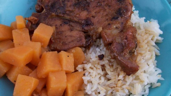 Baked pork chops recipes brown sugar