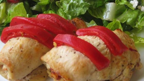 Feta and Sun-Dried Tomato Stuffed Chicken