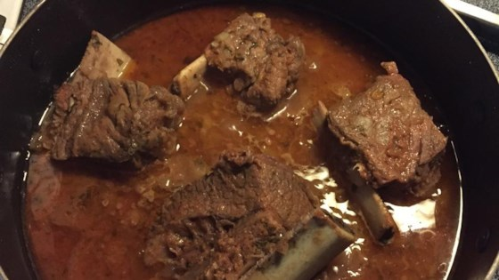 Jane's Barbecued Short Ribs