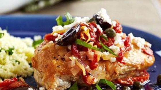 Pan-Seared Mediterranean Chicken Recipe