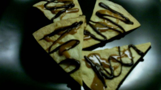 Chocolate-Caramel Tortillas