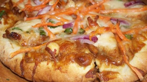 Satay Chicken Pizza