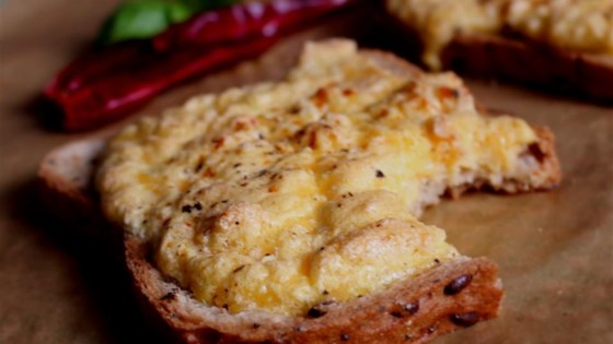 Cheddar Sandwich Souffle