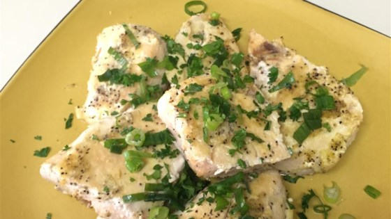 Gina's Lemon Pepper Chicken