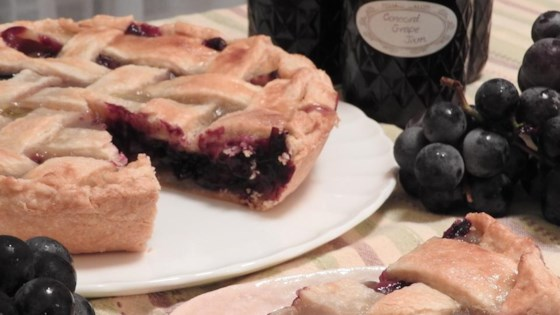 Concord Grape Pie I