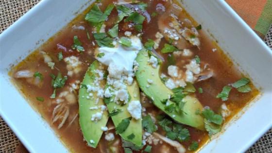 Aunt Kathy's Tortilla Soup
