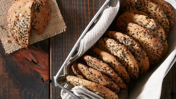 Salty Sesame Dark Chocolate Cookies Recipe - Allrecipes.com