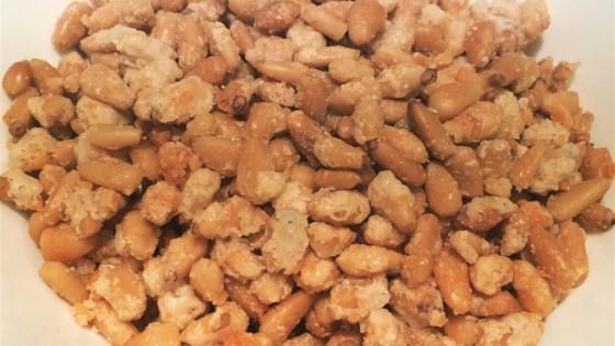 Parmesan Encrusted Pine Nuts