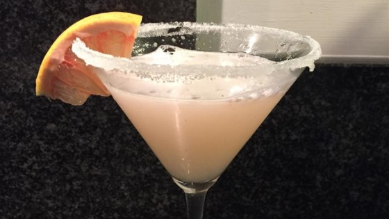 Ruby Red Grapefruit Martini