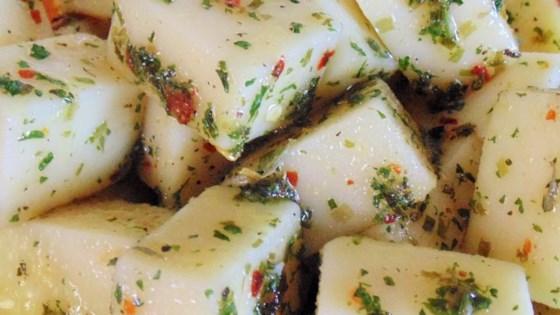 Marinated Mozzarella Cubes