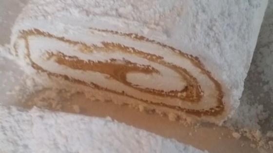 Peanut Butter Divinity Roll