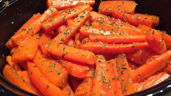 Brandy Glazed Carrots