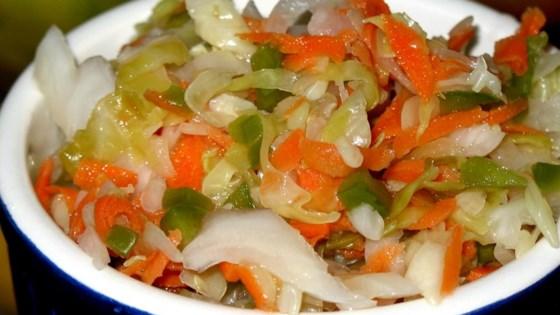Curtido (El Salvadoran Cabbage Salad)