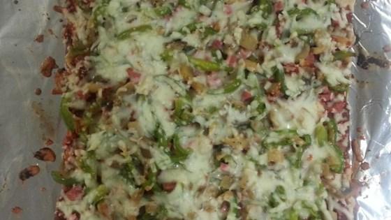 Rustic Flatbread Pizza