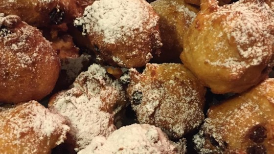 recipe oliebollen dutch doughnuts