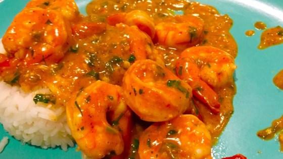 Indian Stir-Fried Shrimp in Cream Sauce (Bhagari Jhinga) Recipe ...