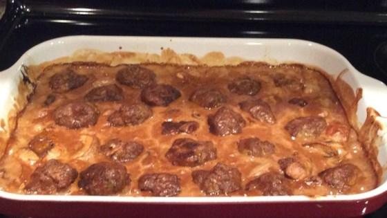 Smothered Meatballs