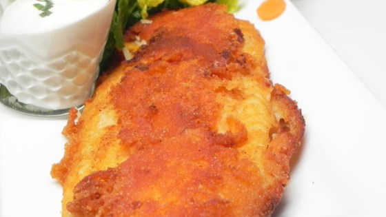 Buffalo flounder fillets recipe for Buffalo fish recipe