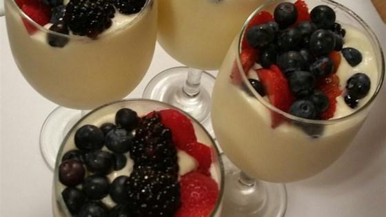 Whipped Cream Zabaglione