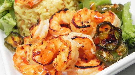 Marinated Broiled Easy Peel Shrimp