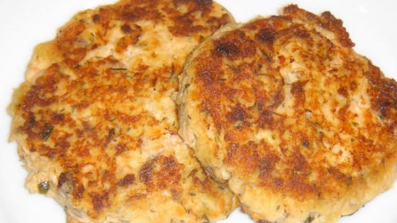 Salmon Cakes III