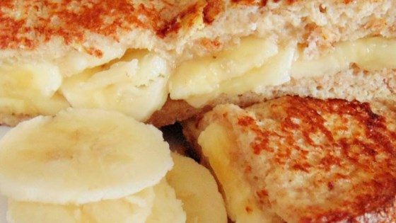 Yummy and Healthy Banana French Toast Sandwich