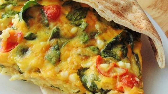 Spinach and Tomato Pita Filling