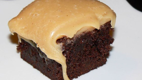 Brownies with Peanut Butter Fudge Frosting