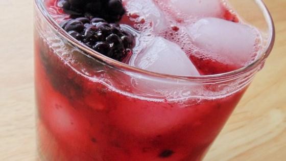 Black Ginger Cocktail