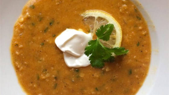 Lentil Soup with Lemon