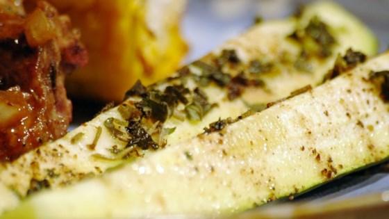Grilled Zucchini I