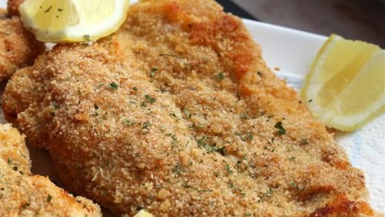 Baked Chicken Schnitzel Recipe Allrecipes Com