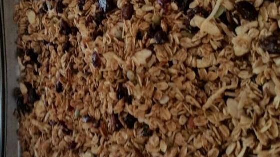 Almost-Fat-Free Granola