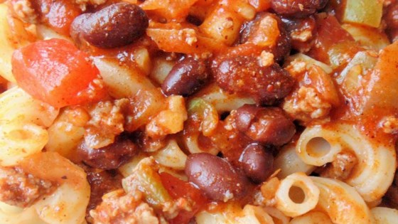 Easy Chili Cavatappi