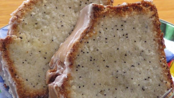 Poppy Seed Bread with Glaze