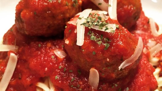 Not-So-Traditional Spaghetti and Meatballs