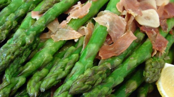 Asparagus, Ham, and Lemon