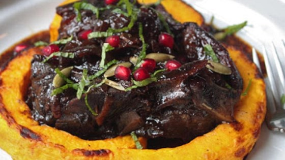 Lamb Braised in Pomegranate