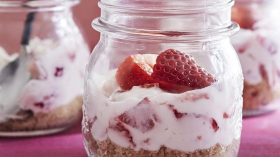 Cake In A Jar Recipe No Bake: Cheesecake In A Jar Recipe