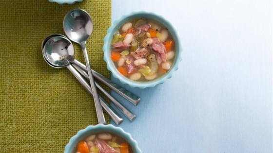 Mom's Ham and Bean Soup