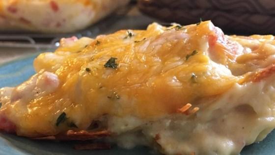 Creamy Chicken Tortilla Bake