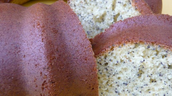Gram's Poppy Seed Cake
