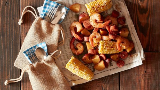 Grilled Cajun Seafood Boil