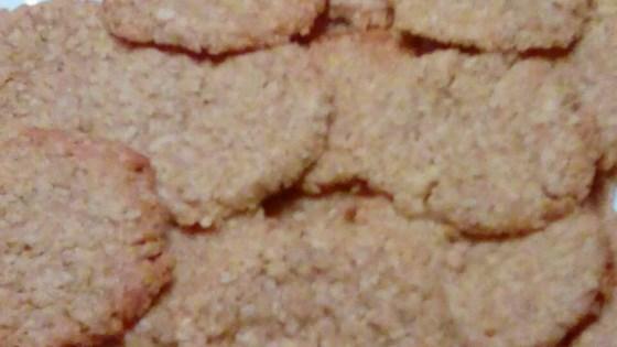 Oatmeal Shortbread Cookies