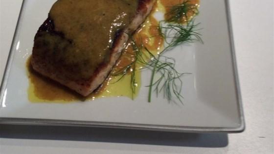 Garam Masala Seared Salmon with Coconut-Curry Butter