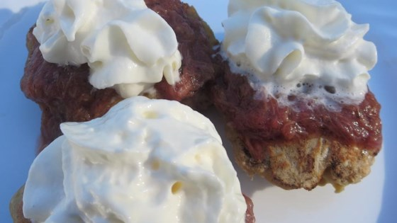 Rhubarb Lover's Pancakes