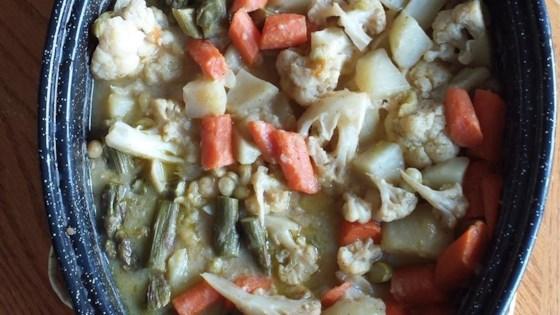 Veggie Curry Casserole