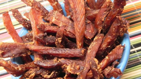 Spicy Salmon Jerky